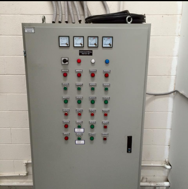 Egan Electrical Contractors offer Electrical Control Cabinets Repairs